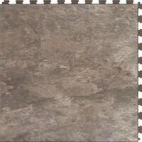 Shop Perfection Floor Tile ITNSFS Hidden Interlocking Vinyl - Interlocking vinyl flooring tiles