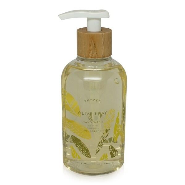 Thymes Hand Wash Olive Leaf 8.25-Oz Pump Bottle