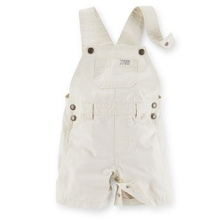 Carter's Baby Boy's Mini Blue's Short Overalls - Ivy