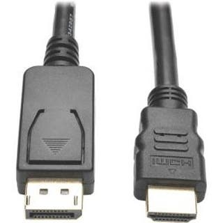 Tripp Lite 6Ft Displayport 1.2 To Hd Active Adapter Cable, Dp W/ Latches To Hdmi|https://ak1.ostkcdn.com/images/products/is/images/direct/3ee07562e421e9a9087a246ed6936483c50f0f54/Tripp-Lite-6Ft-Displayport-1.2-To-Hd-Active-Adapter-Cable%2C-Dp-W--Latches-To-Hdmi.jpg?impolicy=medium