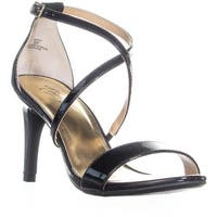 TS35 Darria2 Strappy Dress Sandals, Black Patent