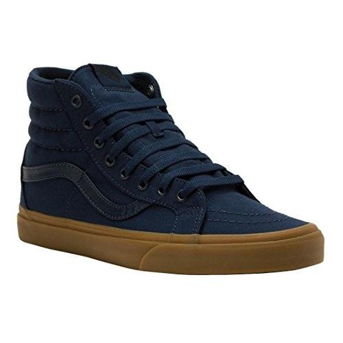 Vans Mens SK8-Hi Reissue Sneaker Dress Blues/Light Gum Size 10