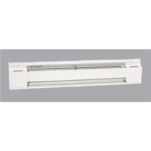 White 750W Fahrenheat F2543 3/' BASEBOARD HEATER