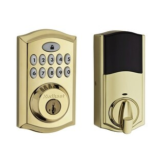 Kwikset 913TRL Single Cylinder Touchpad Electronic Deadbolt from the SmartCode Series