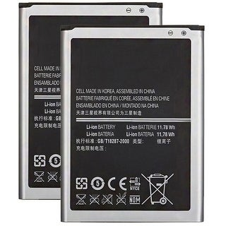 Replacement 3200mAh EBB800BUBE Battery For Samsung Galaxy Note 3 Dual Sim Phone Models (2 Pack)