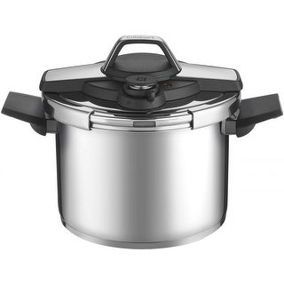 Cuisinart CPC22-6 6 Qt. Stainless Steel Pressure Cooker (Black Stainless)