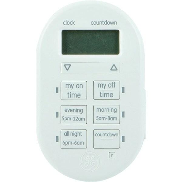Ge 26892 Mytouchsmart(Tm) Indoor Plug-In Digital Timer