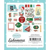 Santa's Workshop Ephemera Cardstock Die-Cuts 33/Pkg-Icons