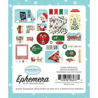 Santa's Workshop Ephemera Cardstock Die-Cuts 33/Pkg-Icons