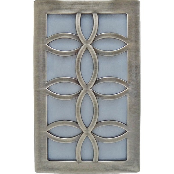 Ge 11257 Faux Nickel Leaf Design Night-Light