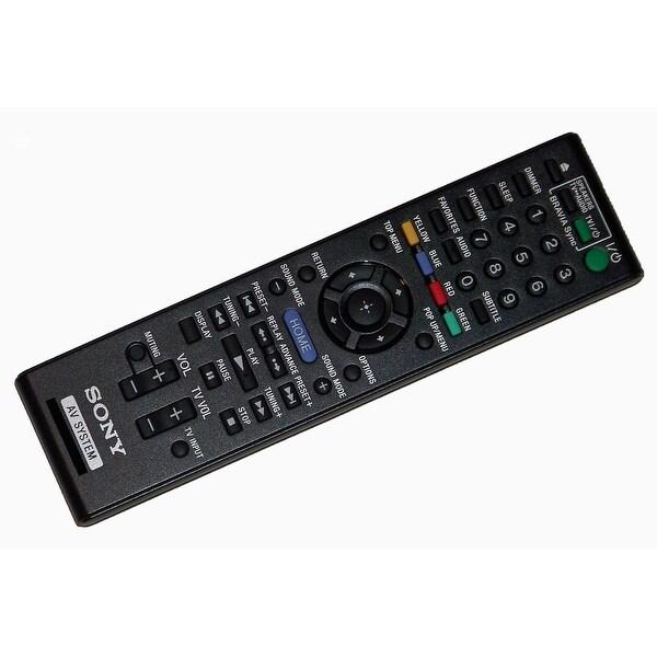 OEM Sony Remote Control: BDVL600, BDV-L600, BDVT28, BDV-T28, BDVT58, BDV-T58