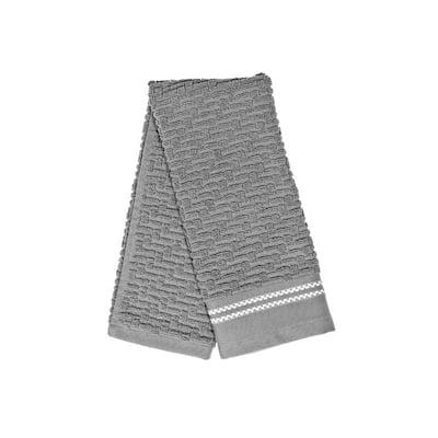 Luxury Stitch Hand Towel (16 X 27) (Light Gray) - Set of 6