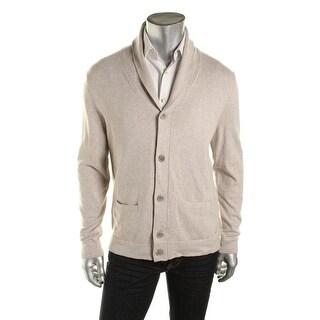 Nautica Mens Shawl Button Down Cardigan Sweater