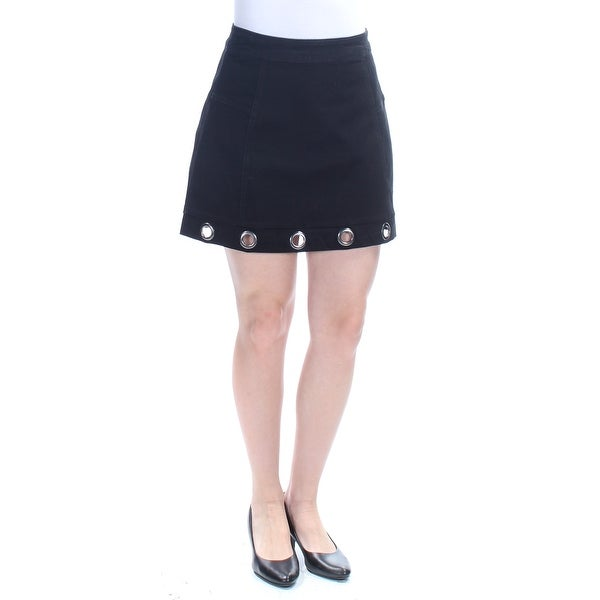 bff76df59 Shop MATERIAL GIRL $45 Womens New 1070 Black Eyelet Pencil Skirt S Juniors  B+B - Free Shipping On Orders Over $45 - Overstock.com - 21273172