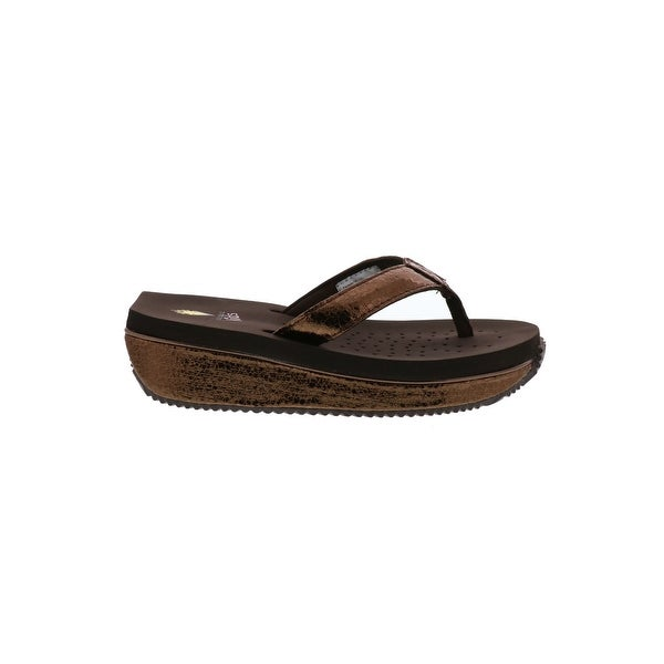Shop Kids Volatile Girls Powderpuff Slip On Wedge Sandals - Free ... 4ca43ebe1158