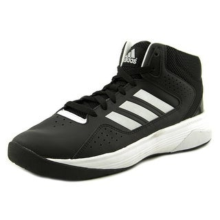 Adidas CloudFoam Ilation Mid Men  Round Toe Leather Black Basketball Shoe