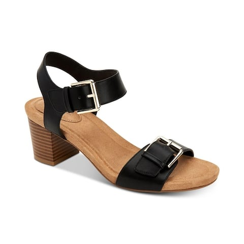 Giani Bernini Womens Montana Open Toe Casual Ankle Strap Sandals