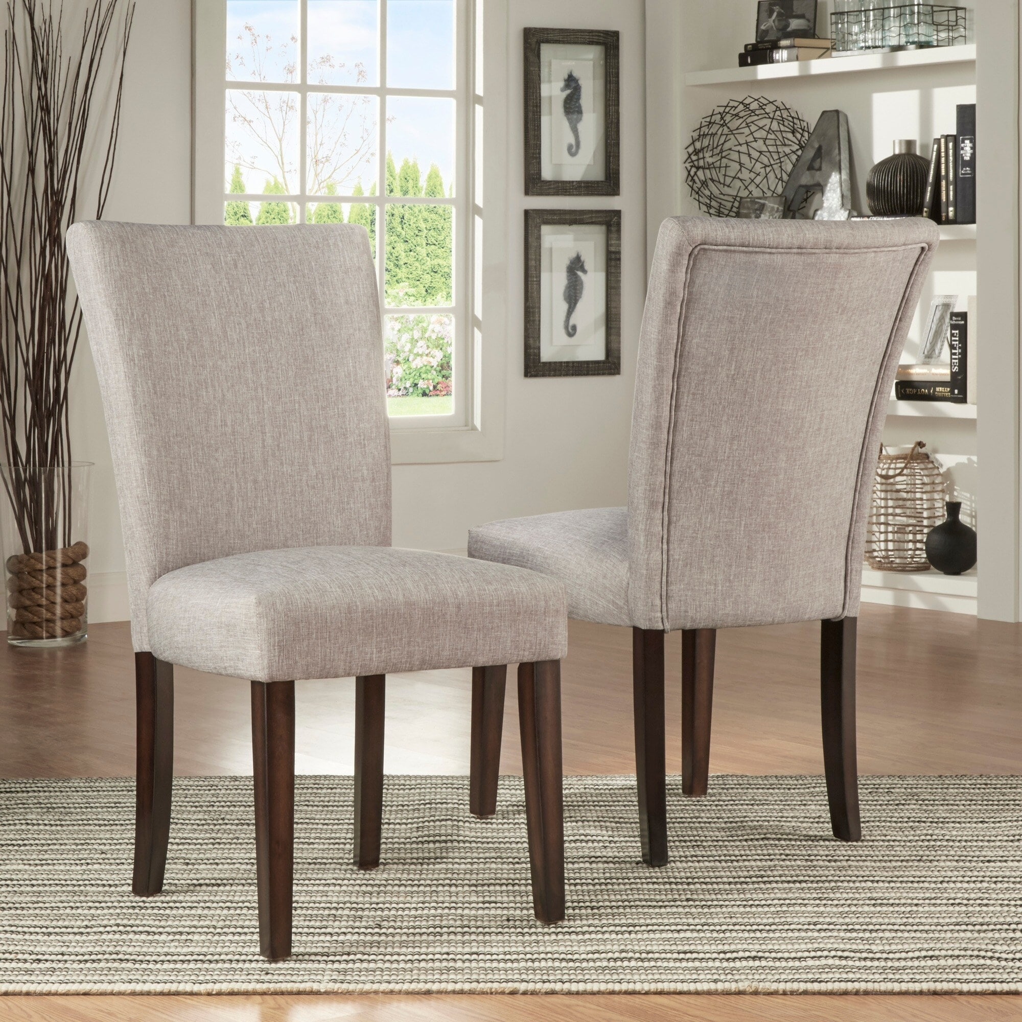 Catherine Parsons Dining Chair Set Of 2 By Inspire Q Bold Dining Chair On Sale Overstock 8551231