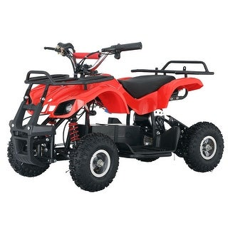 Costway Electric Ride On ATV Quad 36V Battery Operated Kids Four Wheeler Sport Car Red