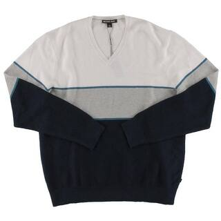 Michael Kors Mens Walden Pullover Sweater Linen Colorblock|https://ak1.ostkcdn.com/images/products/is/images/direct/3eecd5049a7490d29196c55cebefa912d4f7f5cb/Michael-Kors-Mens-Walden-Pullover-Sweater-Linen-Colorblock.jpg?impolicy=medium