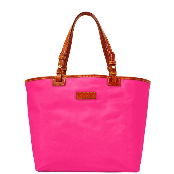 Dooney & Bourke Nylon Lee Tote (Introduced by Dooney & Bourke at $168 in Sep 2016) - Fuchsia
