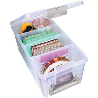 "ArtBin Super SEMI Satchel-15.25""X8""X6.25"" Translucent"