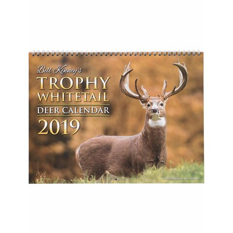 Legendary Whitetails Trophy Whitetail Deer 2019 Calendar