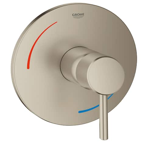 Grohe 29 100 Concetto Single Lever Handle Tub and Shower Valve Trim Only Kit (Valve Sold Separately)