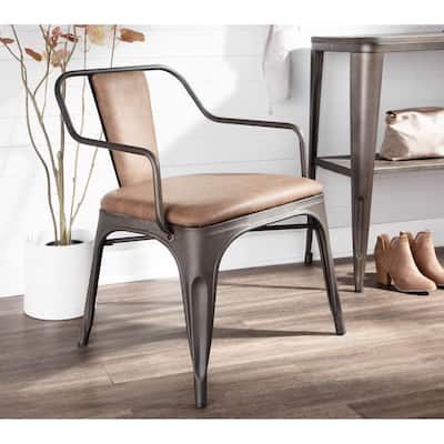 Carbon Loft Samira Industrial Accent/Dining Chairs (Set of 2)