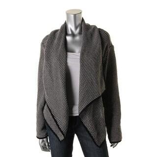 Hugo Boss Womens Long Sleeves Open Front Cardigan Sweater