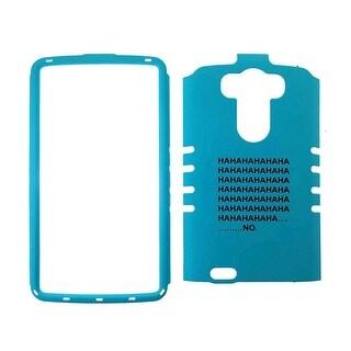Unlimited Cellular Rocker Snap-On Case for LG G3 - Words on Blue