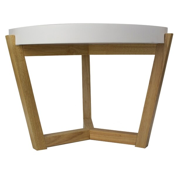 Coffee Table - White - Mdf, Wood