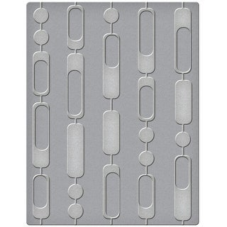 Spellbinders Embossing Folder Small-Curtain Beads