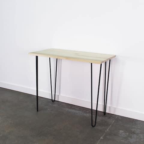 Newport Rustic Desk and Storage Set