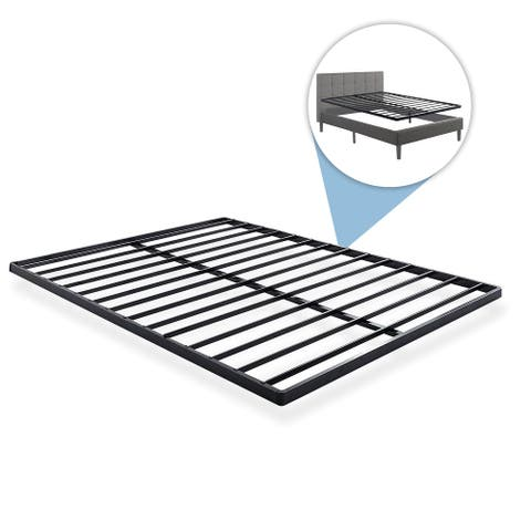 1-inch Easy Assembly Quick Lock Premium Metal Designed Steel Bunkie Board / Bed Slat Replacement