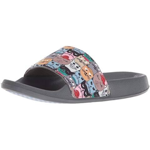 Bobs From Skechers Women'S Pop Ups-Scratch Summer Paddle Slide Sandal, Multi, 9 M Us