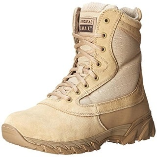 "Original S.W.A.T. Mens Chase 9"" Suede Side Tactical Boots - 4.5"