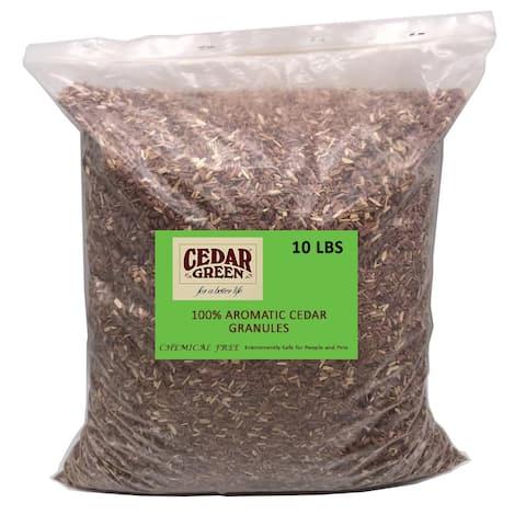 Aromatic Cedar Granules, 10 LBS Bag