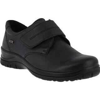 Flexus by Spring Step Women's Ricca Monkstrap Black Leather