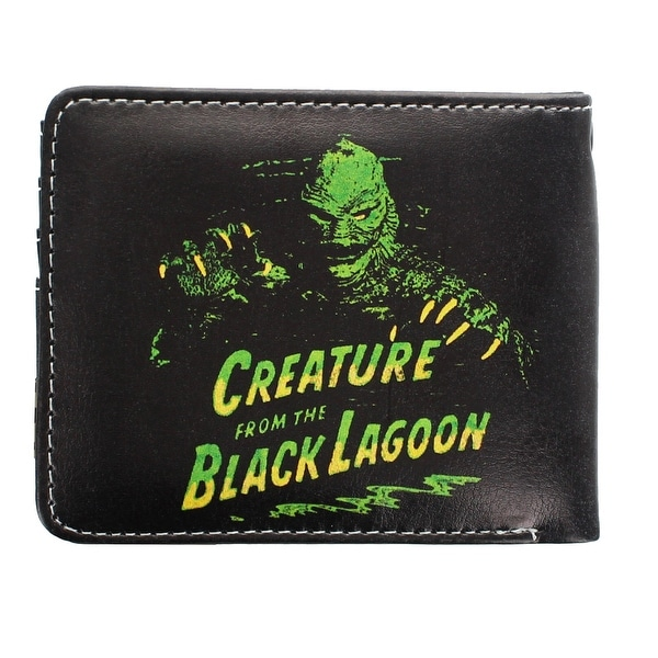 Universal Monsters Creature From the Black Lagoon Men's Bi-Fold Wallet