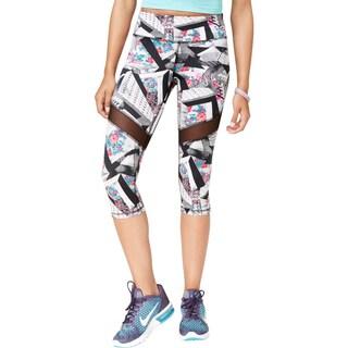 Material Girl Womens Juniors Athletic Leggings Illusion Yoga - XL