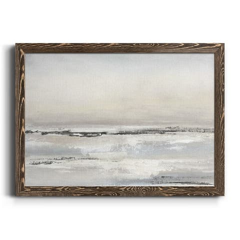 Distant Fog-Premium Framed Canvas - Ready to Hang