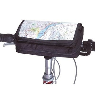 Inertia Roadtrip Bicycle Handlebar Bag - Black