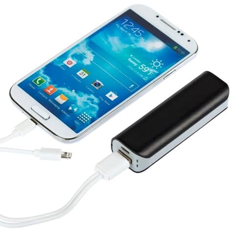 2600mah Capacity Enriched External Battery Pack