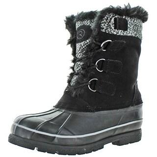 Moda Essentials Revenant-6 Men's Winter Snow Boots Waterproof Rubber Duck Toe