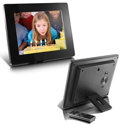 Aluratek Admpf108f 8-Inch Hi-Res Digital Photo Frame With 512Mb ...
