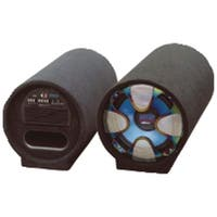 """Pyle Pro Pltab12 Blue Wave Series Amplified Subwoofer Tube System (12"""", 800 Watts)"""