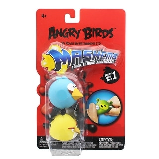 Angry Birds Mash'Ems 2-Pack: Blue & Yellow Bird - multi