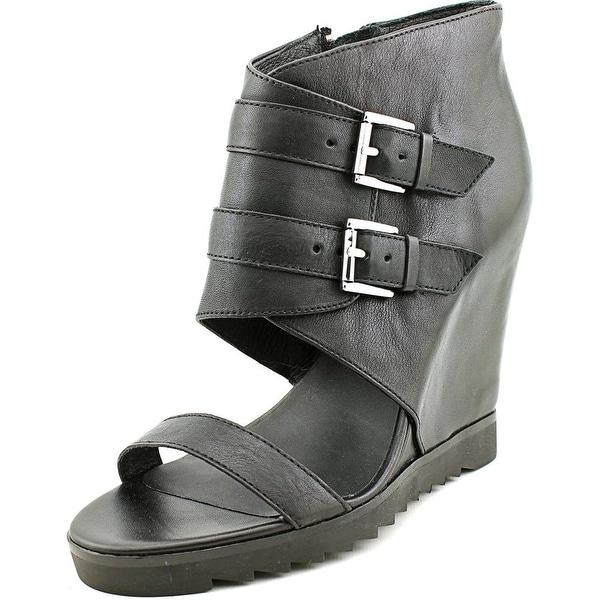 Ashitalia Lipstick Women Black Sandals