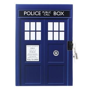 "Doctor Who TARDIS Lock and Key 6"" x 8.5"" Journal"